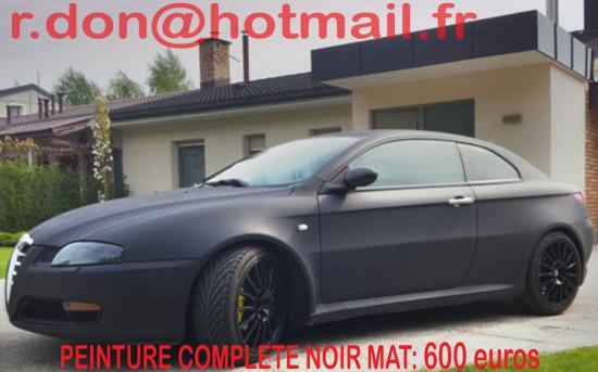 Alfa Romeo GT noir mat, Alfa Romeo GT noir mat