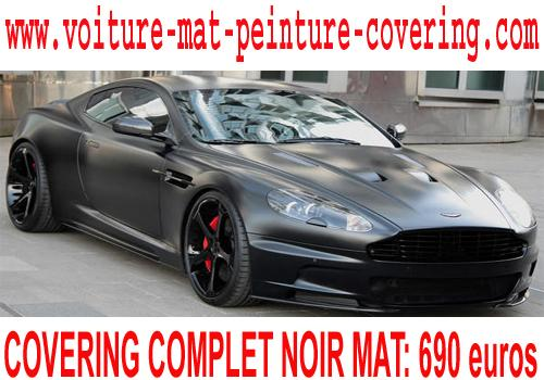 voiture noir mate, voiture noire mate, covering mat, covering mate