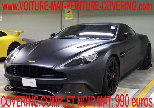 film noir voiture, film adhesif pour voiture, couleur noire mate