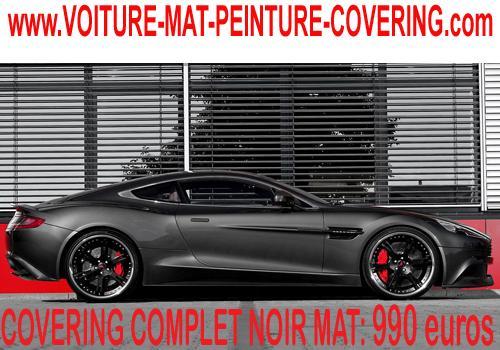 couleur mat, couleur noire mat, couleur mate voiture prix