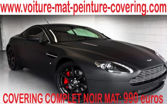 covering mate, film mat, film mate, couleur mat, carrosserie mat