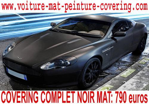 couleur noire mat, couleur mate voiture prix, voiture couleur mate
