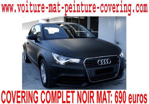 film auto adhesif noir mat, film carrosserie mat, film voiture