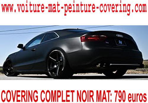 peinture voiture autocollante, voiture couleur mat