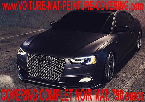 couleur matte, film covering mat, peinture auto mat, peinture mat