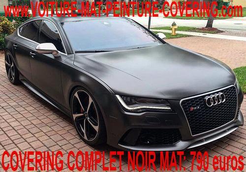 voiture noire mat, voiture peinture mat, voiture mat peinture covering