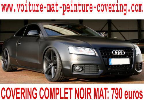 peinture noir mat voiture, peinture adhesive voiture