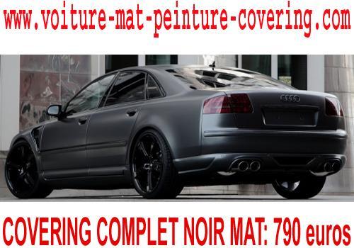 voiture gris mat, peinture mat voiture entretien, pose film mat