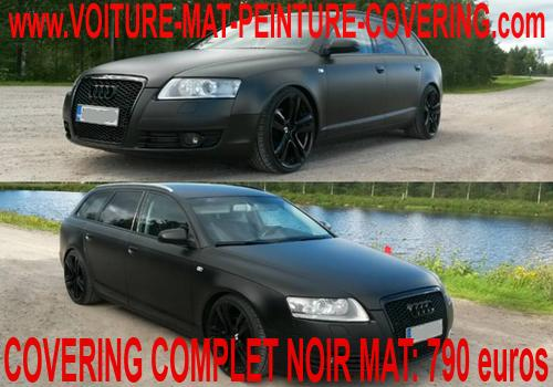 peinture mat voiture entretien, pose film mat voiture, covering