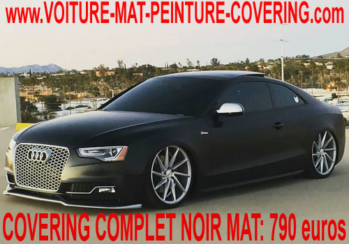 voiture mat peinture covering voiture gris mat peinture mat voiture entretien pose film mat. Black Bedroom Furniture Sets. Home Design Ideas