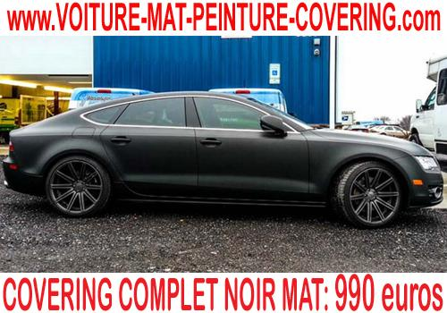 covering complet voiture, tarif covering complet voiture, cout
