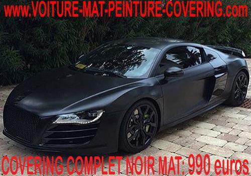 Redonnez une seconde jeunesse à votre auto: covering noir mat