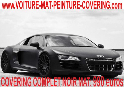 Découvrez un covering noir mat pour booster le look de votre auto !
