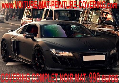 Boostez le look de votre véhicule avec la finition noire effet mat.