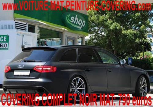 Avec le noir mat, embellissez votre véhicule!