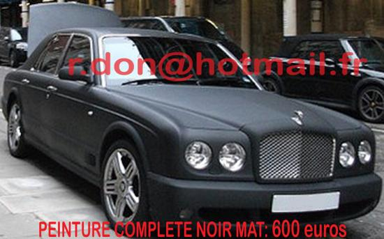 Bentley Arnage noir mat, Bentley Arnage noir mat