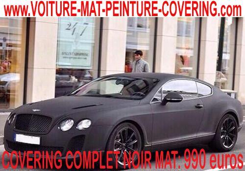 Le noir mat apportera une touche rare et précieuse à votre voiture.