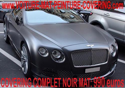 Envie d'apporter de l'originalité à votre véhicule?Passez au noir mat.