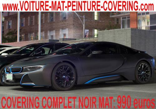Le covering noir mat est un produit phare et haut de gamme.