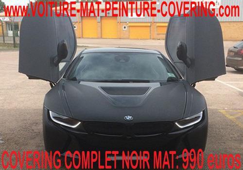 Le noir mat pour votre covering rendra votre véhicule unique.