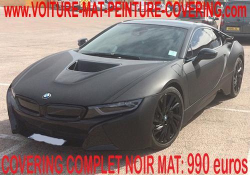 Le noir mate transformera sans aucun doute votre voiture.