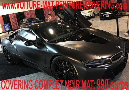 Le covering noir mat est l'idéal pour transformer votre voiture.