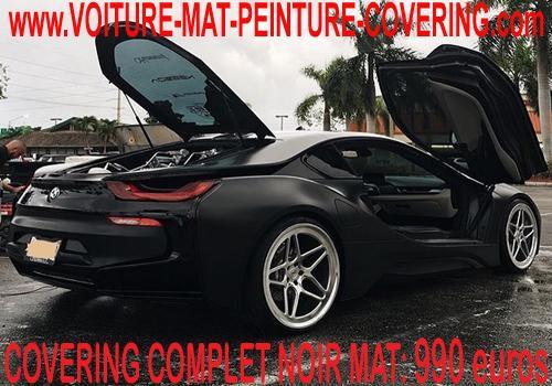 Innovez en customisant votre voiture avec du noir mat.