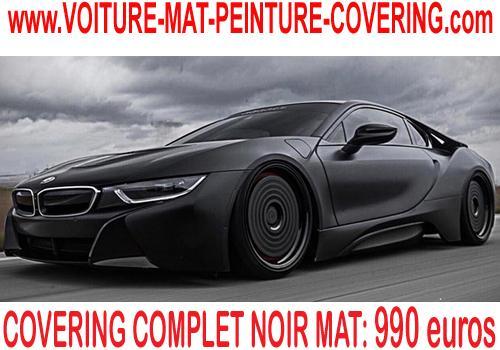 Le noir mat est sobre et surtout très efficace pour un relooking auto!