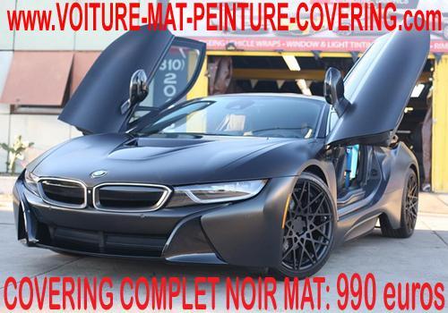 Le noir mat épouse à la perfection les formes de votre véhicule.