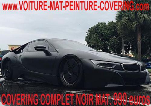 Le noir mat est un relooking de qualité pro sans reflets.