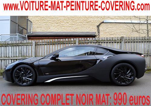 Un noir mat vous permettra de personnaliser votre voiture.