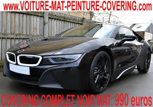 Le covering noir mat fera sensation sur votre auto.