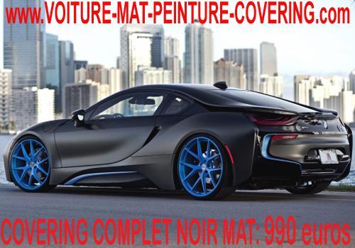 Un nouveau look pour votre voiture? Passez au noir mat.