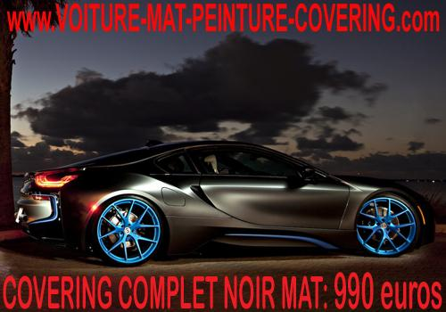 Personnalisez en toute sobriété votre carrosserie avec du noir mat.