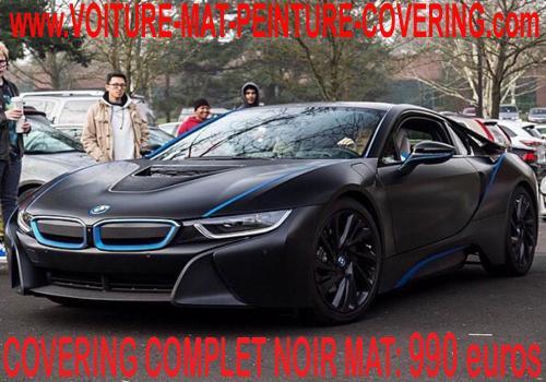 Le covering noir mat vous permettra d'obtenir un effet mat.