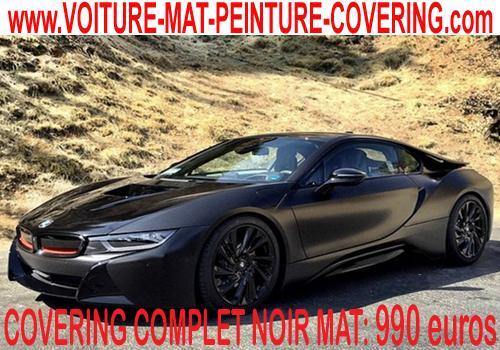 Le film noir mat apportera un coté sportif à votre véhicule.
