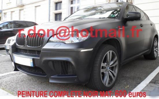 BMW X6 noir mat, BMW X6 noir mat, BMW mat