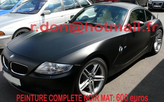 BMW Z4 noir mat, BMW Z4 noir mat, BMW mat