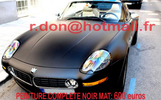 BMW Z8 noir mat, BMW Z8 noir mat, BMW mat
