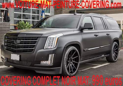 La texture noir mate transformera sans aucun doute votre voiture.