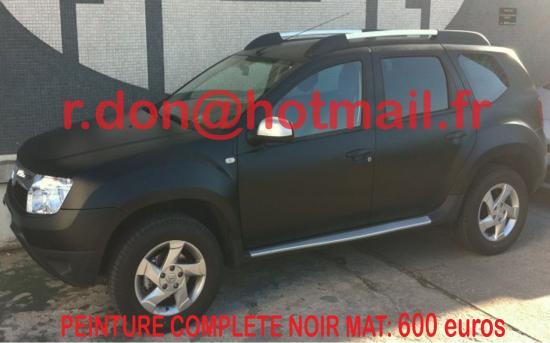 Dacia Duster noir mat, Dacia Duster noir mat