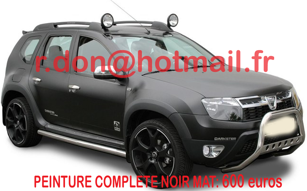 dacia duster tuning covering pour voiture sticker auto. Black Bedroom Furniture Sets. Home Design Ideas