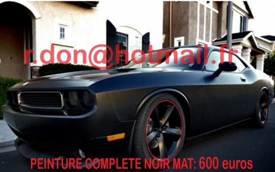 dodge challenger noir mat dodge challenger noir mat dodge challenger noir mat dodge. Black Bedroom Furniture Sets. Home Design Ideas