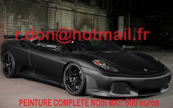 Ferrari F 430 noir mat, Ferrari F 430 noir mat, Ferrari F 430 noir mat