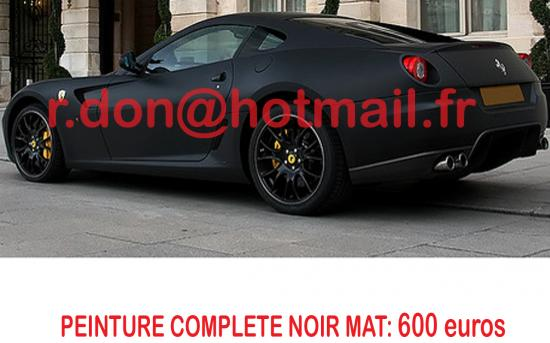 ferrari 599 gtb noir mat ferrari 599 gtb noir mat ferrari noir mat ferrari 599 gtb covering. Black Bedroom Furniture Sets. Home Design Ideas