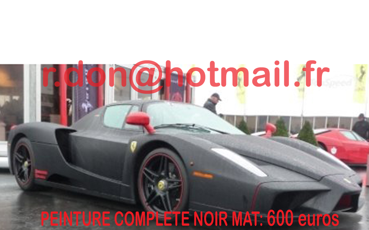 ferrari enzo noir mat ferrari enzo noir mat ferrari noir. Black Bedroom Furniture Sets. Home Design Ideas