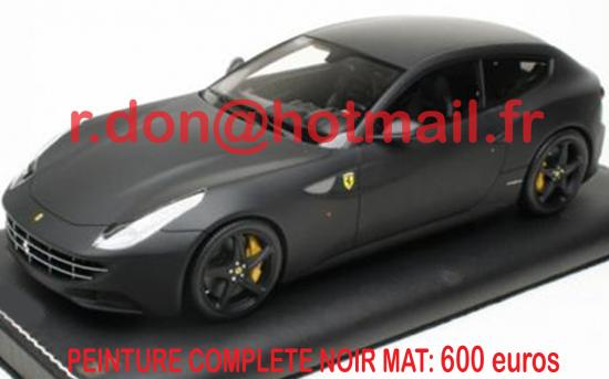Ferrari FF noir mat, Ferrari FF noir mat, Ferrari noir mat