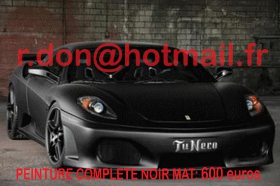 Ferrari noir mat, Ferrari noir mat, Ferrari noir mat