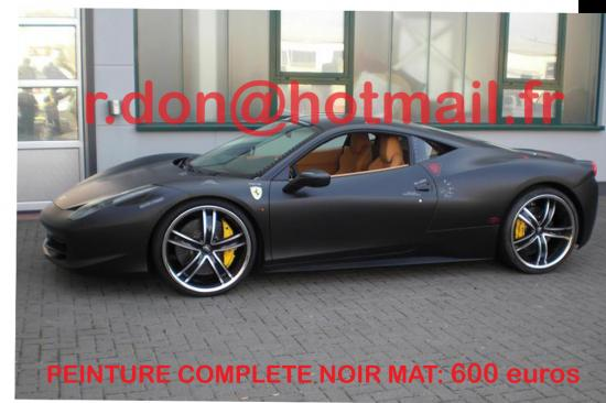 ferrari 360 modena noir mat ferrari 360 modena noir mat. Black Bedroom Furniture Sets. Home Design Ideas