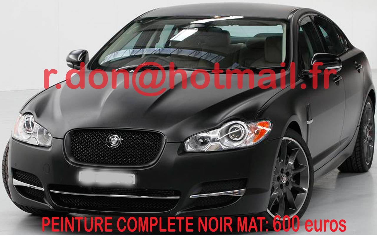 jaguar noire xf
